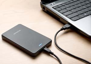 Hitachi Touro Mobile tragbare Festplatte