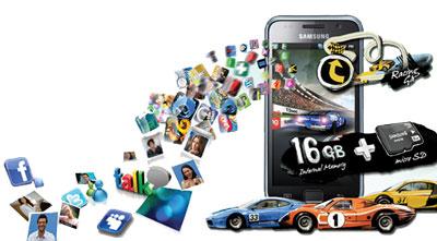 Das neue Samsung Galaxy S I9000 jetzt bei amazon.de