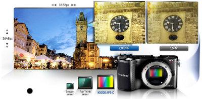 Samsung Nx200 Systemkamera 3 Zoll Inkl 18 55mm Nx Kamera
