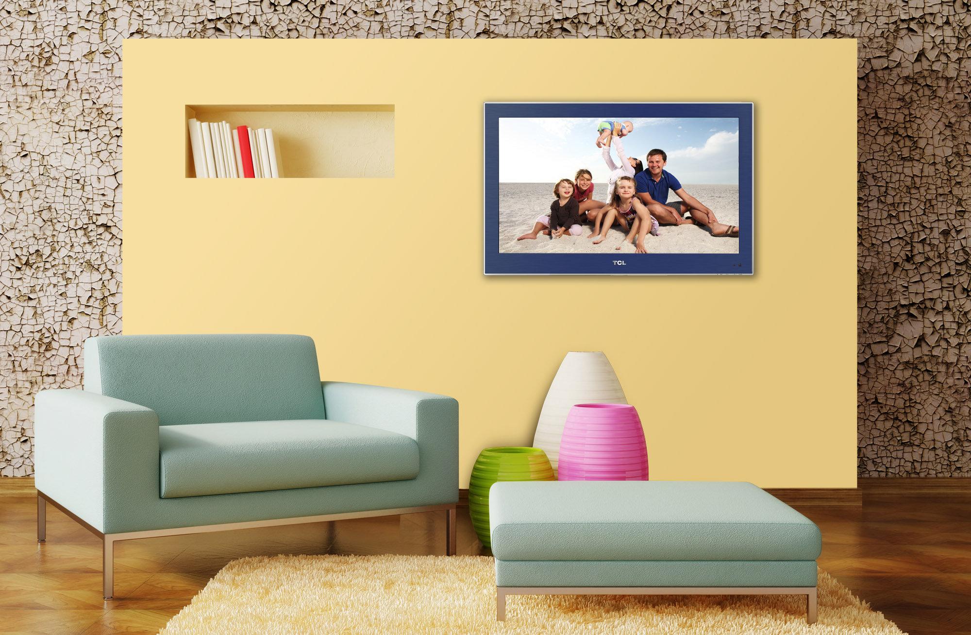 tcl l24e3130fc 61 cm 24 zoll fernseher full hd twin tuner heimkino tv video. Black Bedroom Furniture Sets. Home Design Ideas