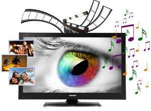Telefunken T26K970 66 cm (26 Zoll) Fernseher (HD Ready