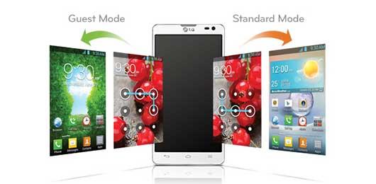 LG L9II - Guest Mode
