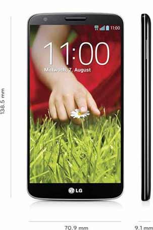 LG G2 - Größe