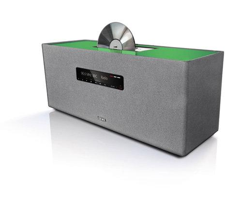 loewe 51202i01 soundbox cd player mit stereo radio und wecker inkl dockingstation f r apple. Black Bedroom Furniture Sets. Home Design Ideas