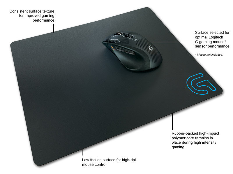Logitech Gaming Mouse Pad Logitech G440 H...