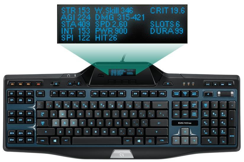 Logitech Gaming Keyboard G510s Uk Layout Amazon Co Uk Computers
