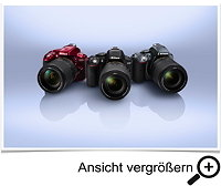Nikon D5300 Farbvarianten