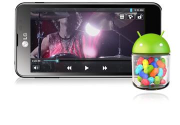fortschrittliches Android 4.1 Betriebssystem