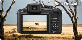 Panasonic Lumix Dmc Fz62eg K Digitalkamera 3 Zoll Kamera