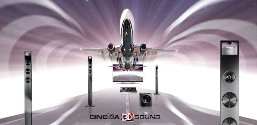 5 1 Surround Sound System With Wireless Rear Speakers Amazon