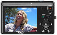 Nikon Coolpix S6300 - Clear Color Monitor