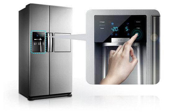 Kühlschränke samsung  Samsung RS7527THCSL/EF Side by Side / A+ / 497 kWh/Jahr / 361 L ...