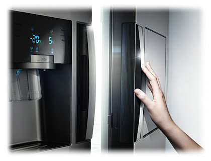 Side By Side Kühlschrank Abstand Wand : Samsung rs thcsl eg side by side a l premium