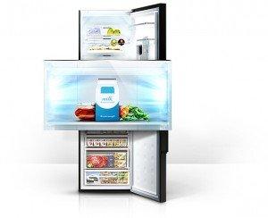 Amica Kühlschrank Glühbirne Wechseln : Samsung rl58gqgih1 xef kühl gefrier kombination a kühlen: 234 l