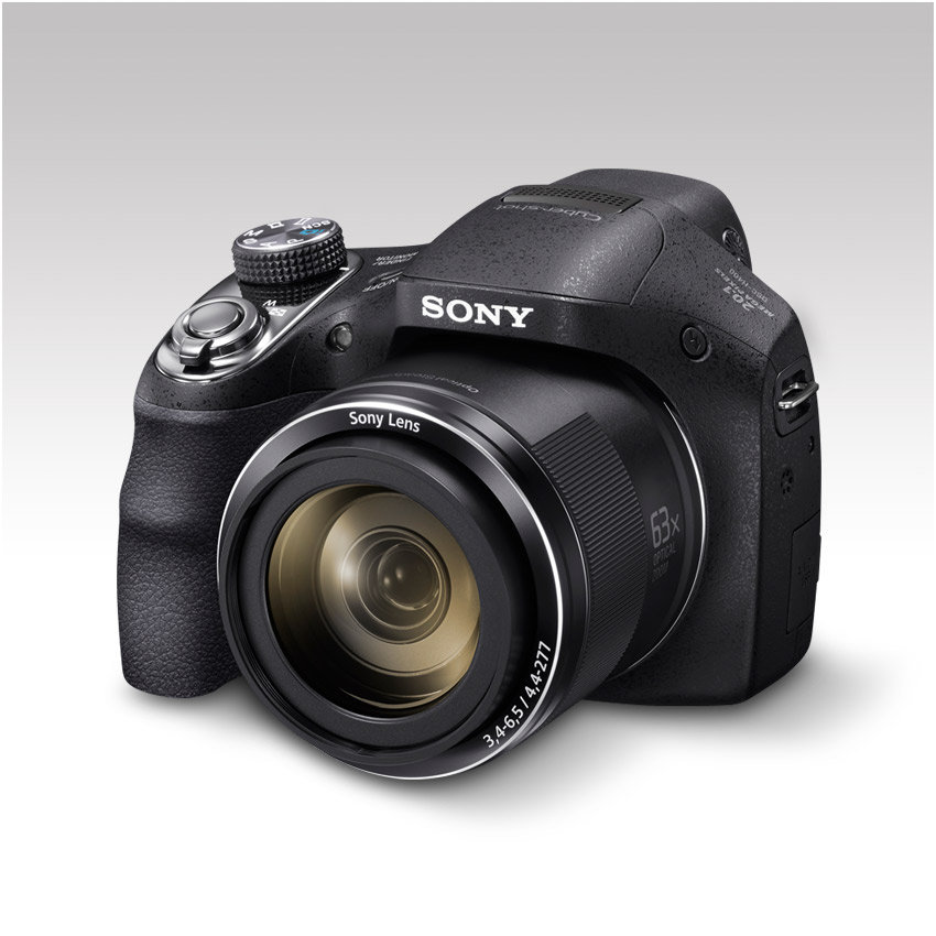 Sony DSCH400 Digital Compact Bridge Camera