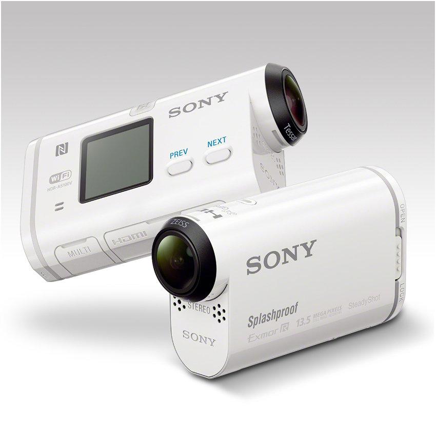 Sony HDR-AS100V Ultra-kompakter Action-Camcorder mit ...