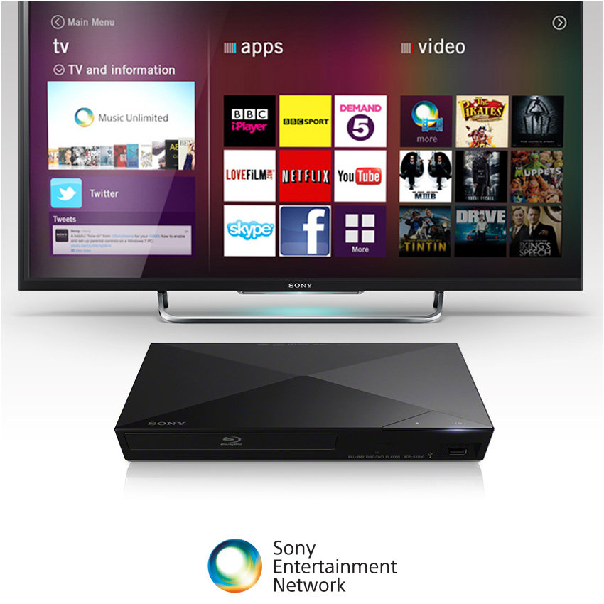 Sony BDPS1200 Smart Blu-ray Disc Player (Discontinued by Manufacturer)