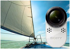 sony hdr as100v ultra kompakter action camcorder mit. Black Bedroom Furniture Sets. Home Design Ideas