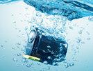 Freihändig Aufnahmen machen – selbst unter Wasser