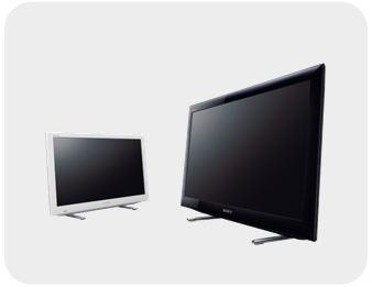 sony kdl26ex555 66 cm 26 zoll fernseher hd ready triple tuner smart tv. Black Bedroom Furniture Sets. Home Design Ideas