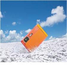 Wasser, Staub, Frost und Stöße – die TX30 ist robust genug, um sie überall hin mitzunehmen