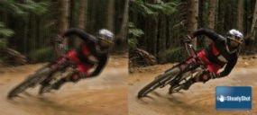 SteadyShot elimina salti e sfocature