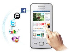 Das neue Samsung Star II S5260 bei amazon.de