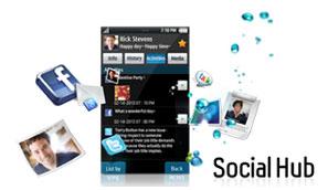 Social Hub beim Wave 8500