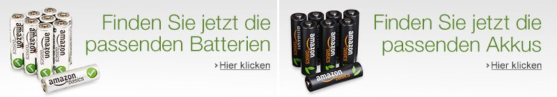 Batterien und Akku Finder