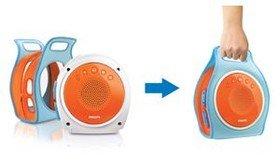 philips az250 12 cd soundmaschine f r kinder mit lautst rkeregelung f r sicheren h rgenuss mit. Black Bedroom Furniture Sets. Home Design Ideas
