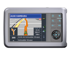 Navigon TRANSONIC PNA 5000 Navigationssystem + Mobile ...