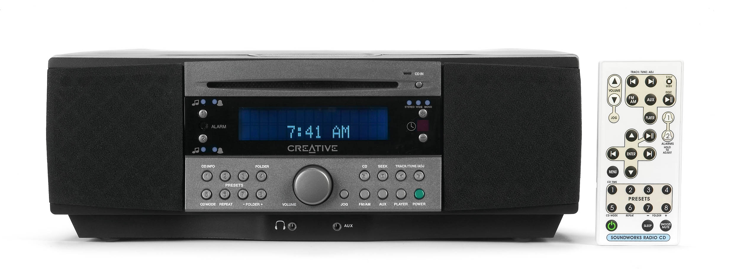 Creative SoundWorks 745 Radio mit integriertem CD-Player