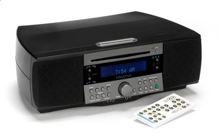 creative soundworks 745 radio mit integriertem cd player. Black Bedroom Furniture Sets. Home Design Ideas