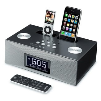 sdi ihome ip88 dual dock radiowecker f r iphone und ipod. Black Bedroom Furniture Sets. Home Design Ideas
