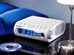 karcher ka 205 radio cd player radiowecker ukw mw tuner ebay. Black Bedroom Furniture Sets. Home Design Ideas