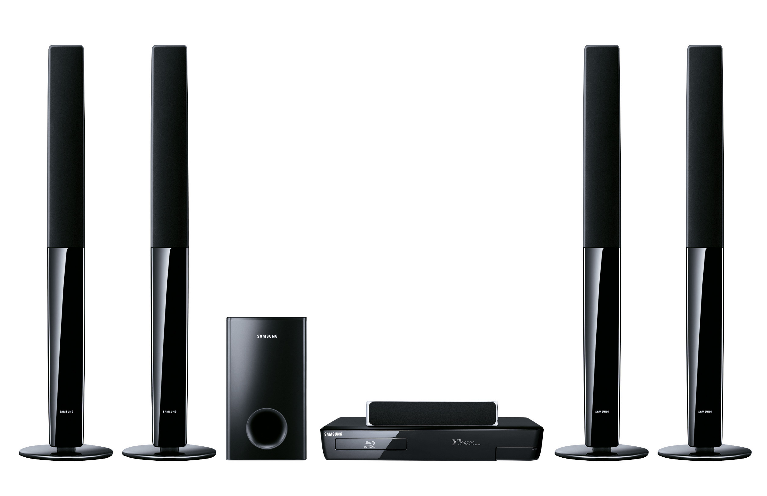 samsung ht bd 1255 r 5 1 blu ray heimkinosystem wifi. Black Bedroom Furniture Sets. Home Design Ideas