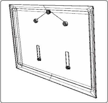 samsung ultra slim wandhalterung nur f r samsung led 32 94 cm 37 zoll 1 5 cm abstand zur wand. Black Bedroom Furniture Sets. Home Design Ideas