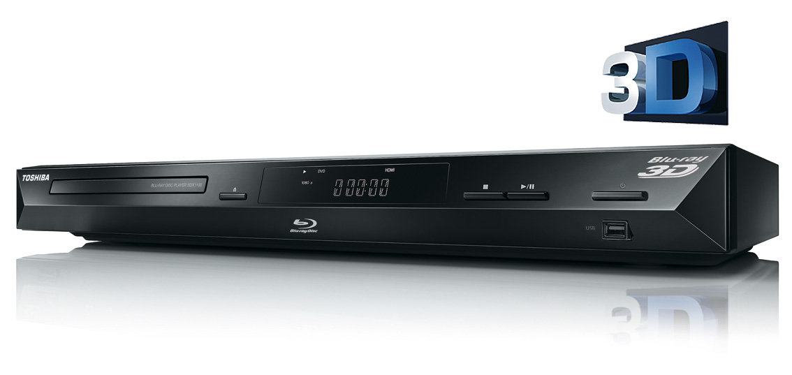 toshiba bdx3100ke 3d blu ray player hdmi upscaler 1080p divx usb schwarz. Black Bedroom Furniture Sets. Home Design Ideas