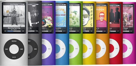 apple ipod nano mp3 player 8 gb schwarz audio. Black Bedroom Furniture Sets. Home Design Ideas