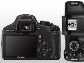l design ergonomico e il display  LCD da 7,7 cm Clear View fanno in modo che la EOS 550D sia piacevole da utilizzare.