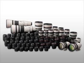 Oltre 60 obiettivi Canon rappresentano una forte componente per possibilità creative.