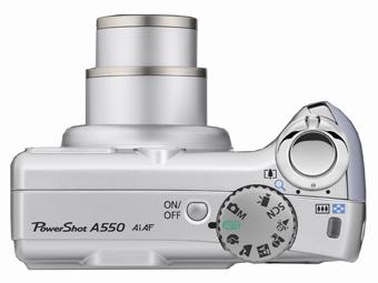 canon powershot a550 digitalkamera 2 zoll kamera. Black Bedroom Furniture Sets. Home Design Ideas