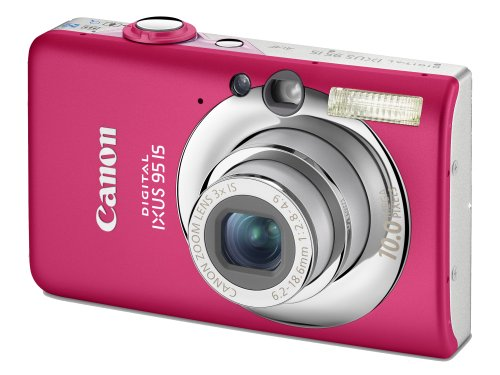 Canon Digital Ixus 95 Is Digitalkamera Pink Kamera