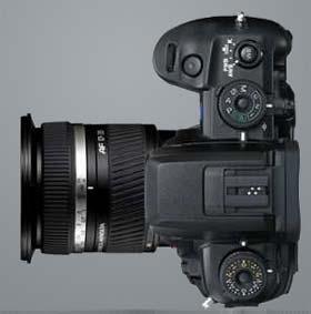 Konica Minolta Dynax 7D SLR-Digitalkamera 6 Megapixel nur Geh/äuse