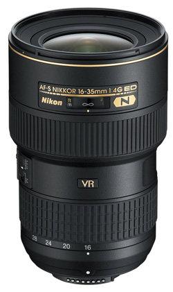 AF-S NIKKOR 16-35mm 1:4G ED VR von Nikon