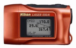 Nikon Entfernungsmesser Laser 550 : Nikon lrf a s distanzmesser messbereich m für golf