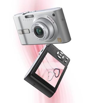 Panasonic DMC-FX12 EG K Digitalkamera 2,5 Zoll schwarz