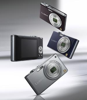 Panasonic Dmc Fx33 Eg K Digitalkamera 2 5 Zoll Schwarz Kamera