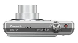 Panasonic Lumix Dmc Fs7 Digitalkamera 2 7 Zoll Silber Kamera