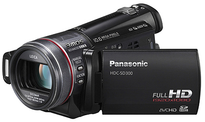 panasonic hdc sd300 eg k full hd camcorder 2 7 zoll kamera. Black Bedroom Furniture Sets. Home Design Ideas